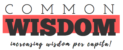 CommonWisdom for Startups, Careers and Company Culture